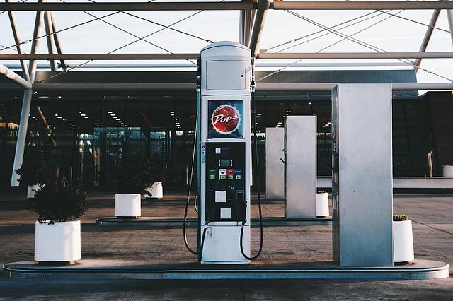 benzinová pumpa